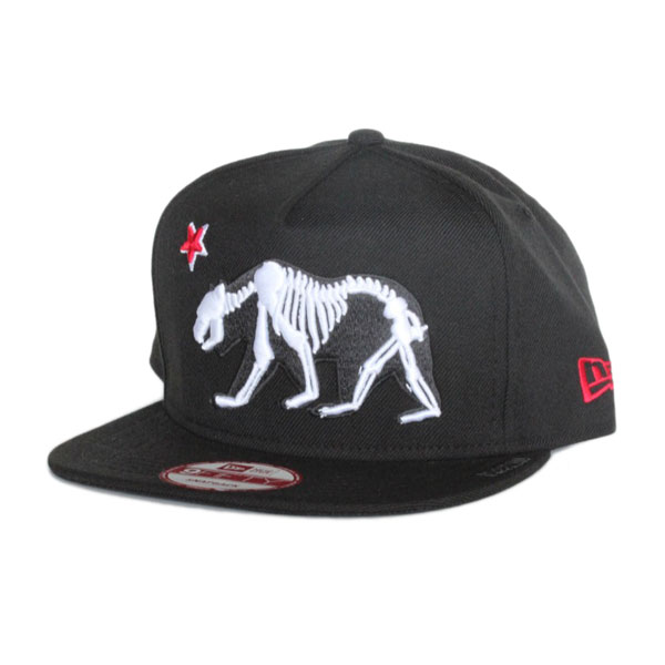 Bear Bones New Era Snapback Cap