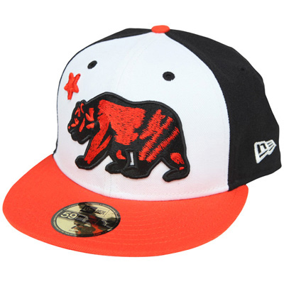 CR V3 New Era Cap (White/Orange/Black)
