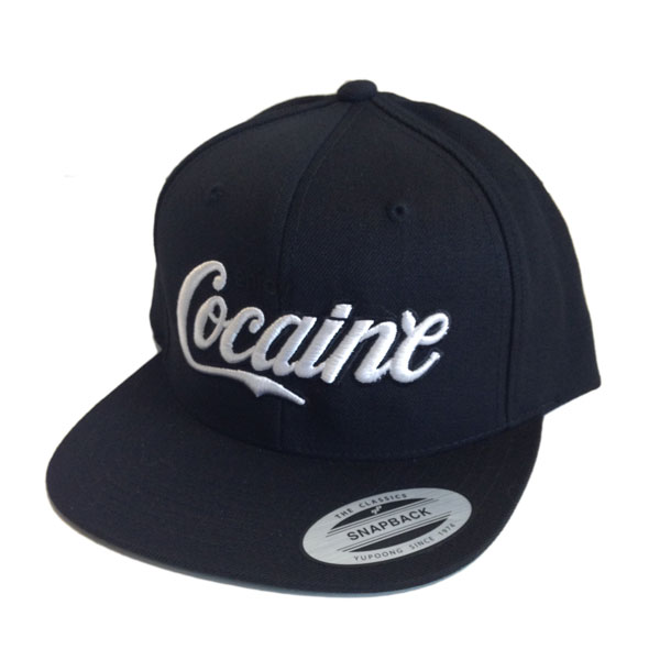 Enjoy Cocaine Yupoong Snapback Cap