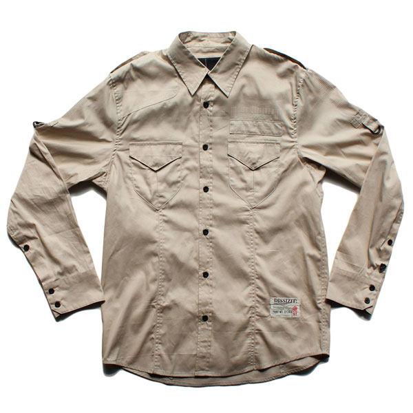Legionnaire L/S Button Up Shirt (Khaki)