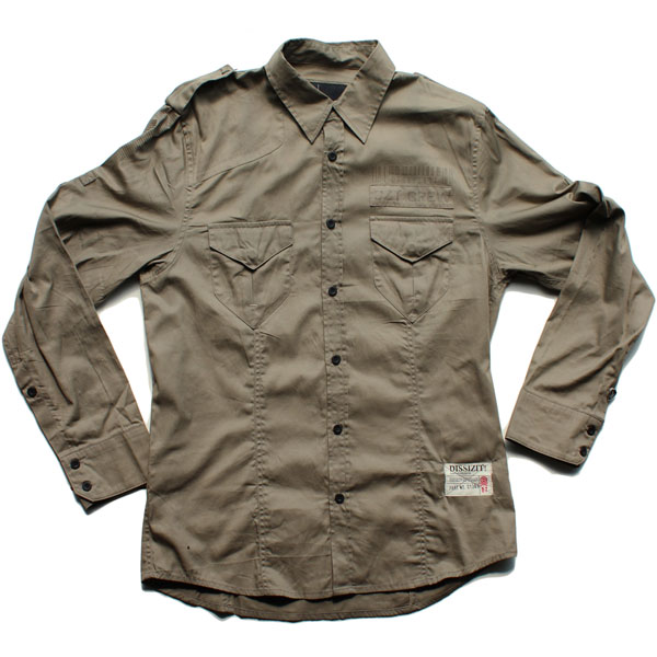 Legionnaire L/S Button Up Shirt (Olive)