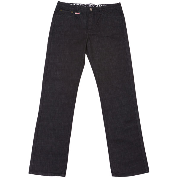 Patent Denim (Relax Fit-Raw Black)